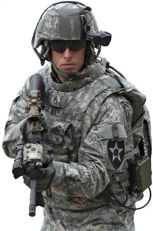The US Land Warrior is an integrated fighting system for individual infantry soldiers which gives the soldier enhanced tactical awareness, lethality and survivability. The systems integrated into Land Warrior are the weapon system, helmet, computer, digital and voice communications, positional and navigation system, protective clothing and individual equipment. The Land Warrior system will be deployed by infantry, and combat support soldiers, including rangers, airborne, air assault, light…