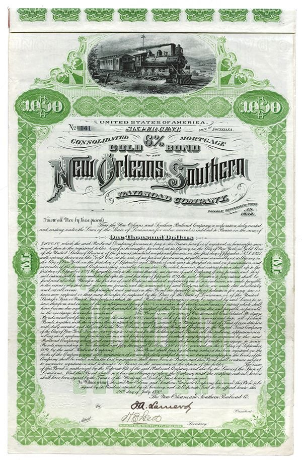 Realisations Public Auctions Stock Share Certificates