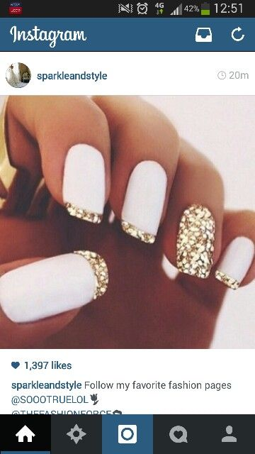 nails bridal shower