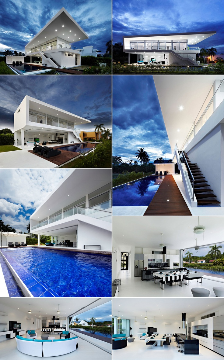 Very and Modern GM1 Residence in Colombia by GM1 Arquitectos