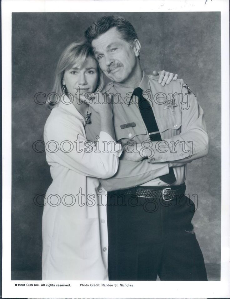 1993 Tom Skerritt Kathy Baker in Picket Fences TV Show Press Photo