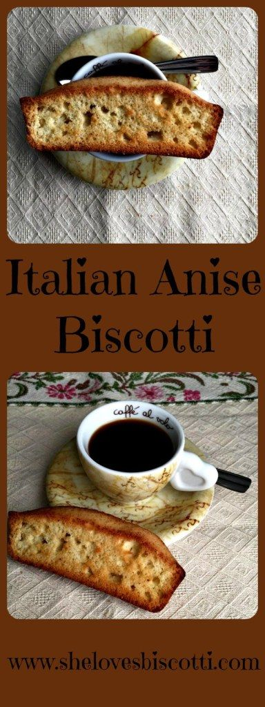 This recipe for authentic Italian Anise biscotti is perfect with your espresso or a tall glass of milk.