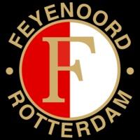 Logo voetbalclub Feyenoord Rotterdam.