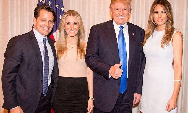 👹Anthony Scaramucci wife Deidre files for divorce because he was hell bent in going to work for Trump 🤡| Daily Mail Online
