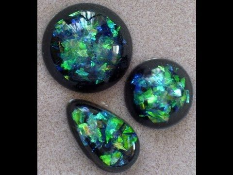 (27) Resin Opals - Faux Opals - YouTube