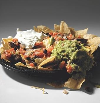 Worst Mexican Entree Baja Fresh Charbroiled Steak Nachos 2,120 calories....Eat This Instead!  2 Original Baja Steak Tacos  460 calories