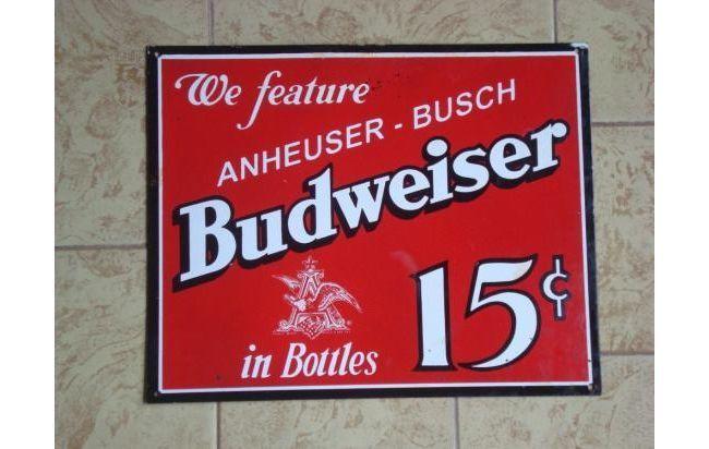 Carteles Antiguos en http://www.alamaula.com/q/cartel+antiguo/S1G1 #Vintage #Decoracion #Nostalgia #Marcas #Carteles #Frases #Slogans #Antiguedades #Curiosidades #Budweiser #Cerveza #Beer