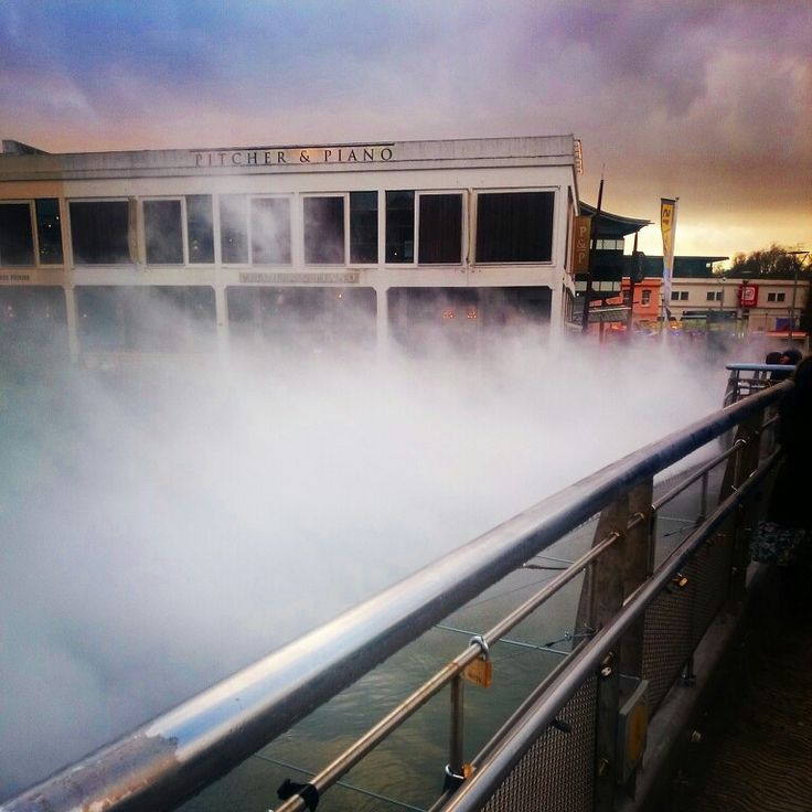 #fog #bridge #art #free #Arnolfini #bristol #harbour #harbourside #pitcher #and #piano #pedros #lock  #bristol #england #city