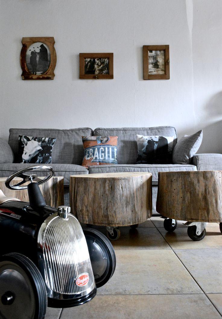 17 meilleures id es propos de tables artisanales sur pinterest tables de - Tronc arbre decoration interieur ...