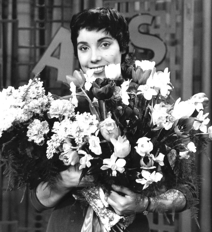 Corry Brokken, winner of the Eurovision Song Contest 1957