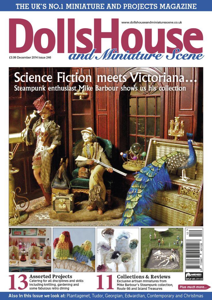 december 14 dolls house and miniature scene front cover wwwdollshouseandminiaturesceneco - Houses Magazine Subscription