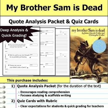 best my brother sam is dead images brother 13 best my brother sam is dead images brother graphic organizers and literature circles