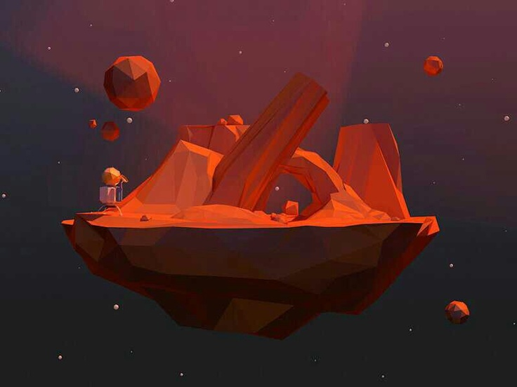 Poligonal planet space