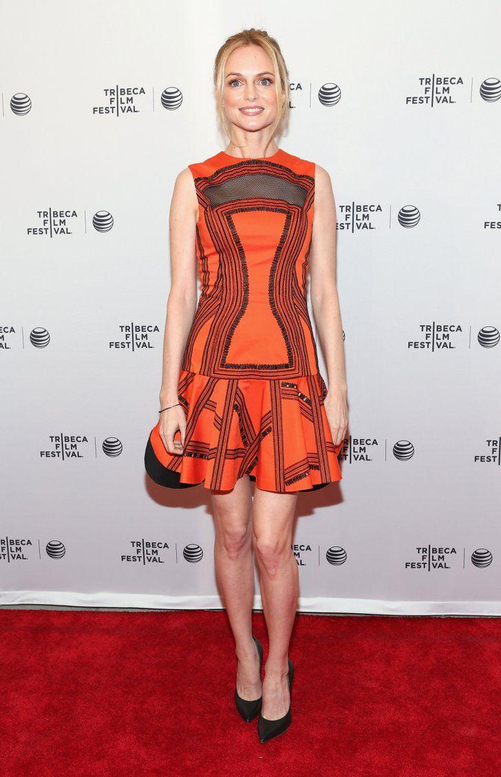 Pin for Later: Suite et fin du festival du film de Tribeca !  Heather Graham sur le tapis rouge de Goodbye to All That.