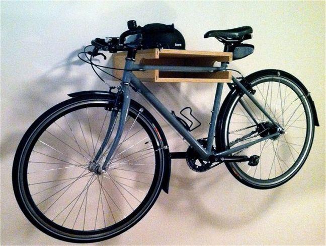 bike racks for garage wall