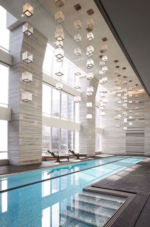 Yabu pushelberg hotels fitness gym swimming pool for Terrace youth residential services