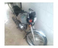 Honda 125 Black Color 2016 Negotiable Price New Tyre Sale In Lahore