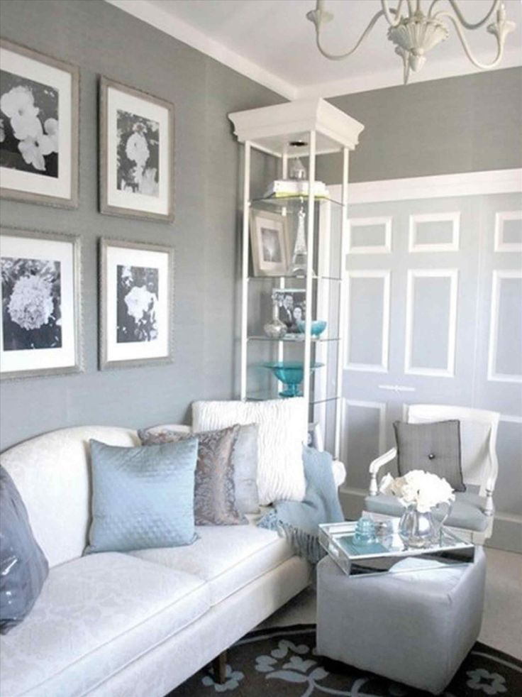 There are many ways to decorate. 14 Best Light Gray Paint Ideas For Living Room — BreakPR