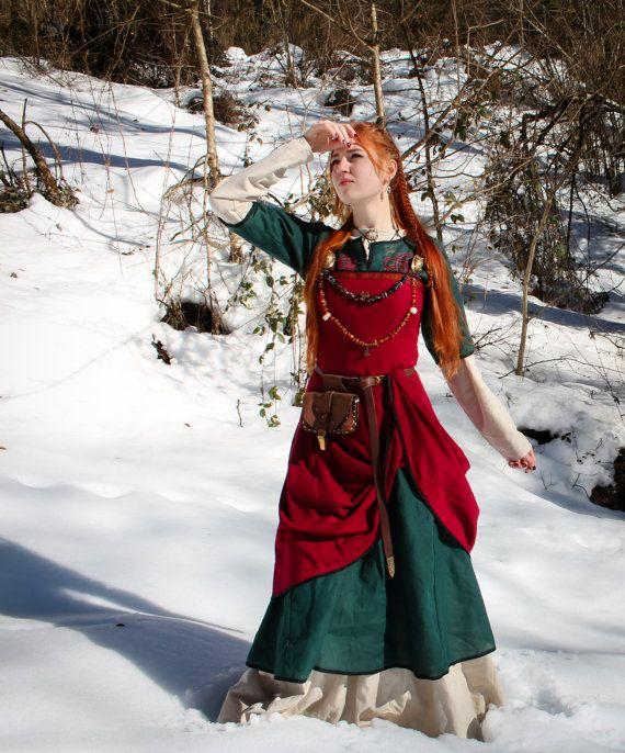 SPRING DISCOUNT Viking dress Freya viking apron