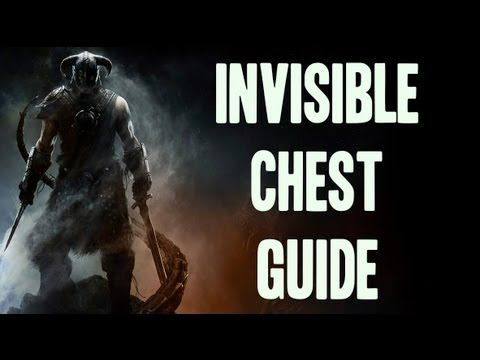 ▶ Skyrim - Invisible Chest Guide: Whiterun - YouTube