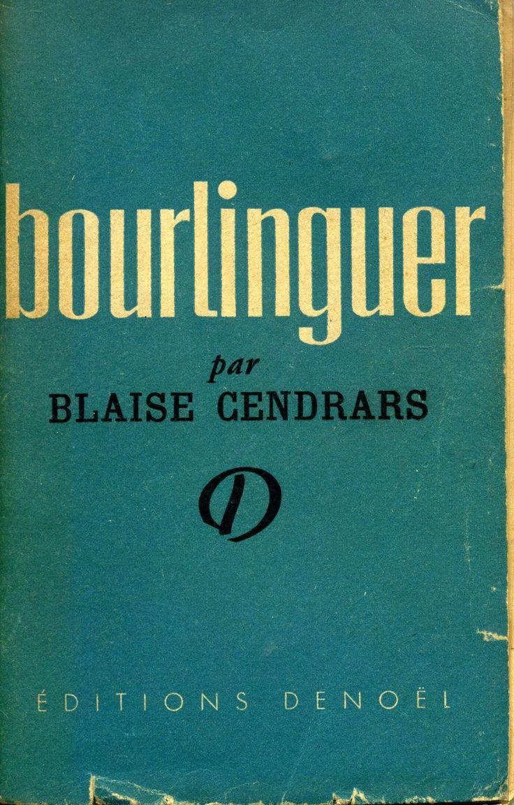 Bourlinguer - Denoël - 1948