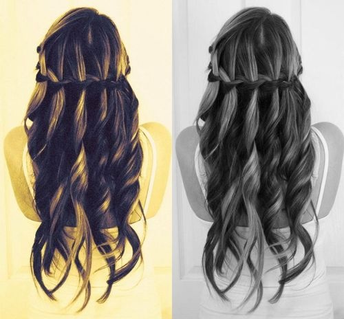 Will do when my long hair comes back!