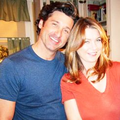ellen pompeo and patrick dempsey tumblr | Likes | Tumblr | We Heart It