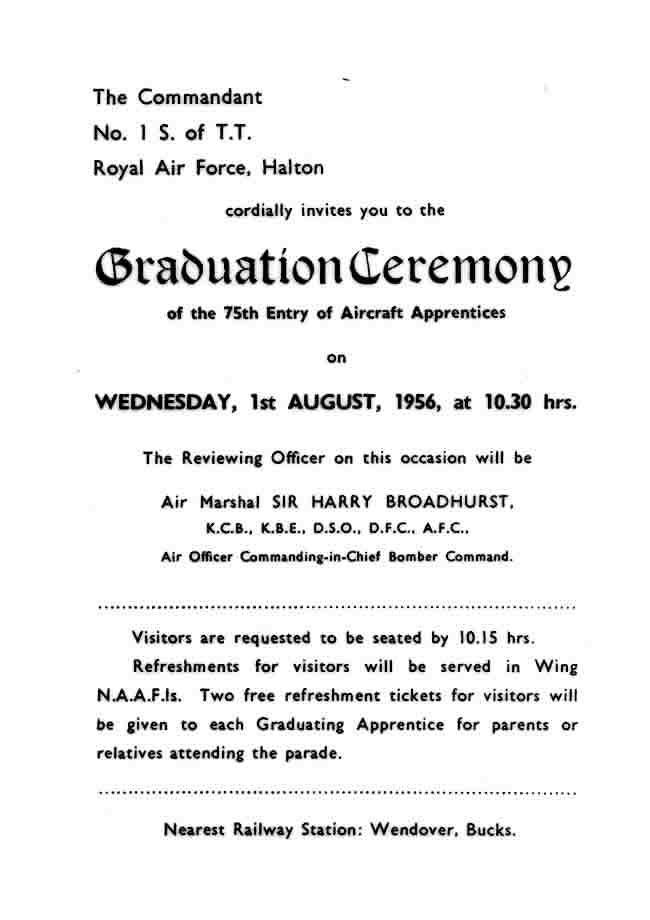 Formal Graduation Invitations Letter