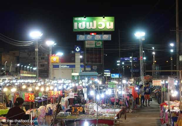 Sehf Wan Nachtmarkt Nakhon Ratchasima