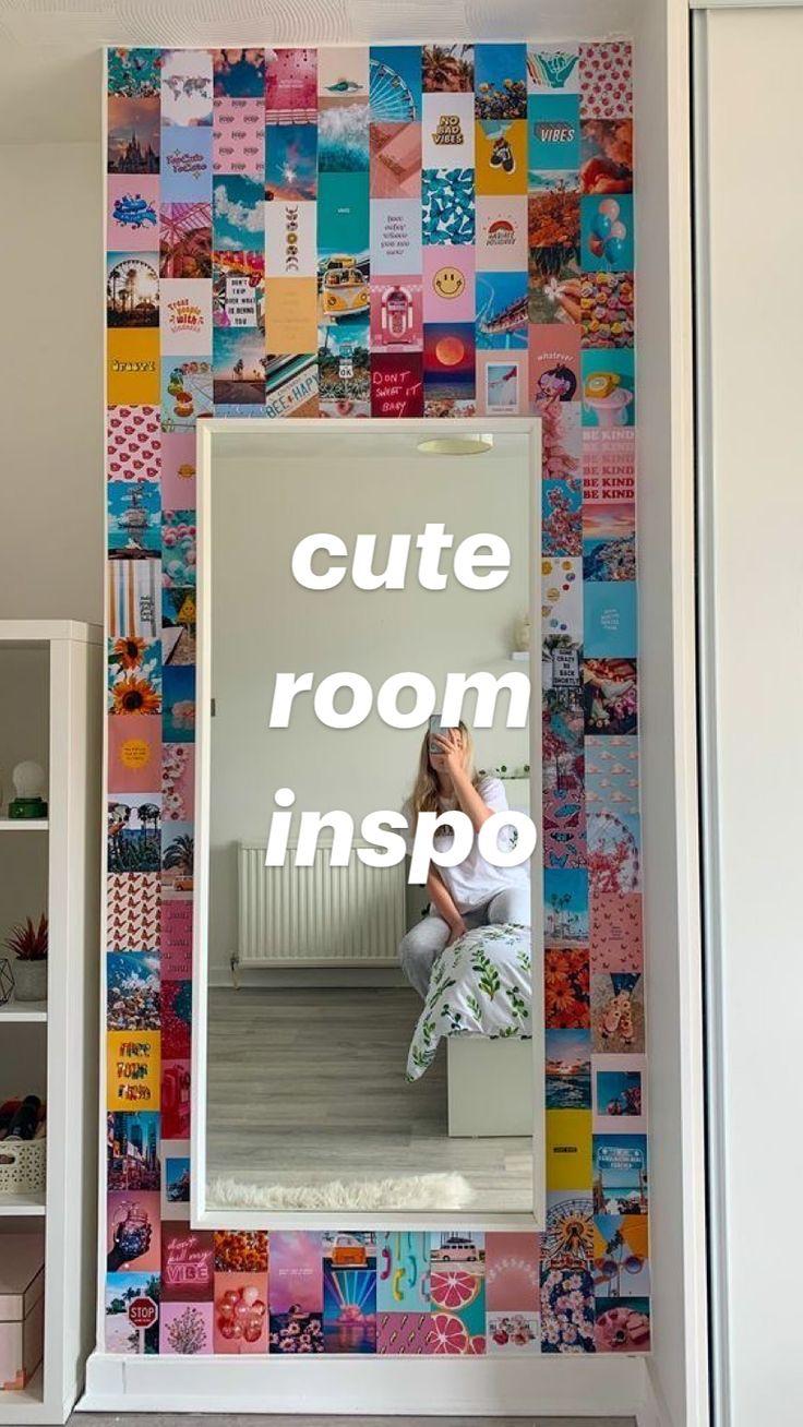 Cute Bedroom Decor, Room Design Bedroom, Small Room Bedroom, Teen Room Decor, Room Ideas Bedroom, Small Rooms, Couple Bedroom, Bedroom Ideas For Teens, Tumblr Room Decor