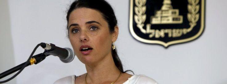 Israels neue Justizministerin Ayelet Shaked: Kampagne zur Delegitimierung des Staates