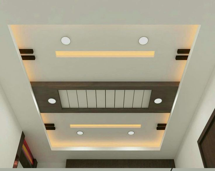 Foto Plafon Ruang Tamu Fab Simple False Ceiling Design