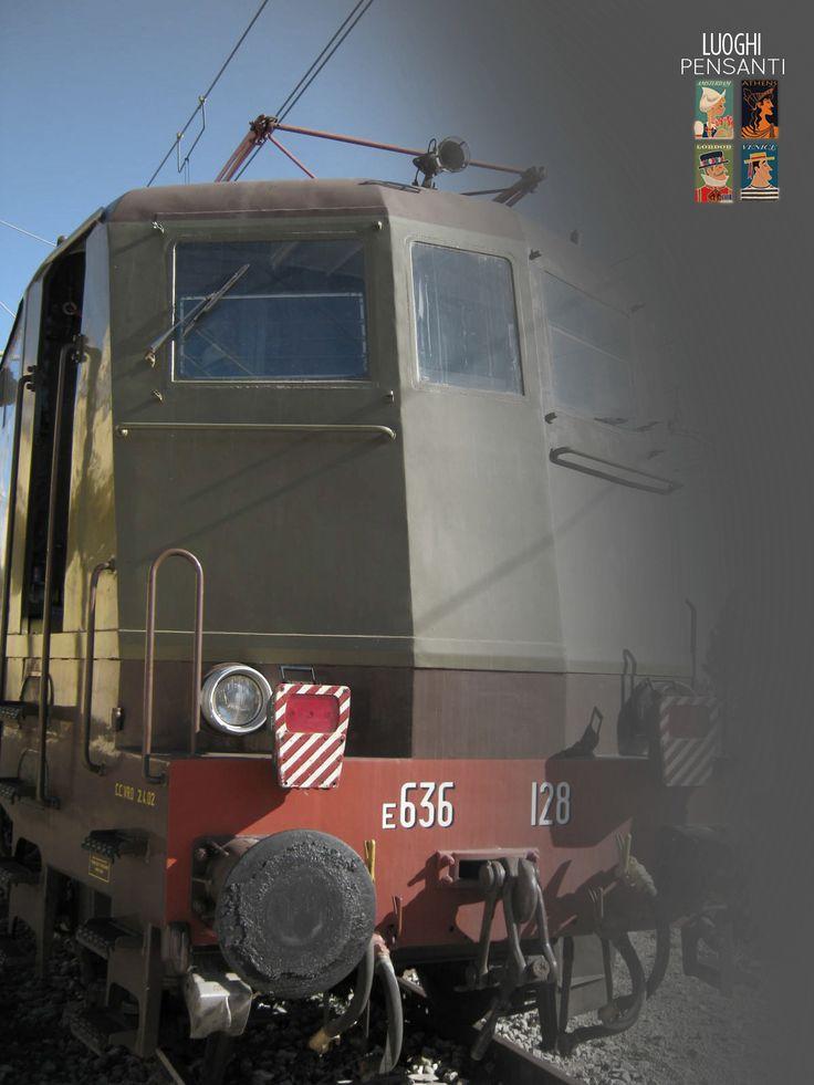 Al motore D345, apri fila di nuovi bagliori - #ferroviekaos #ItaSontheRoad #LuoghiPensanti