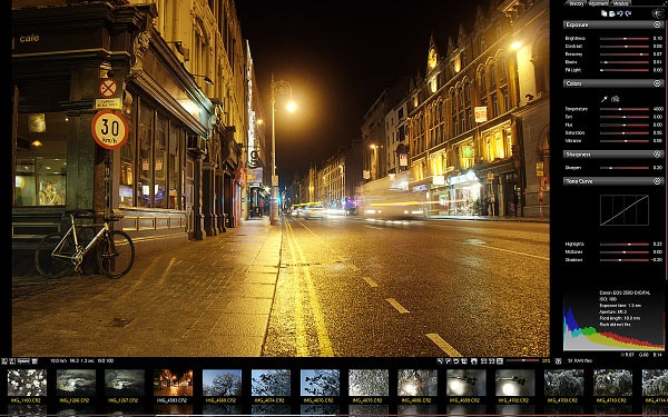Scarab Darkroom - free camera raw file converter and photo editor.