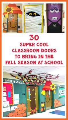 30 Super Cool Classroom Doors to Bring in the Fall Season at School – Bored Teachers