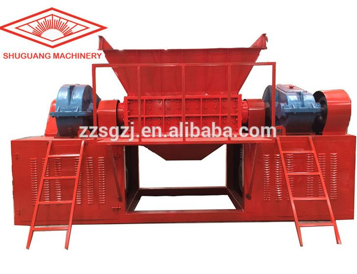 china best plastic shredder machine for sale, tyre shredder with high quality