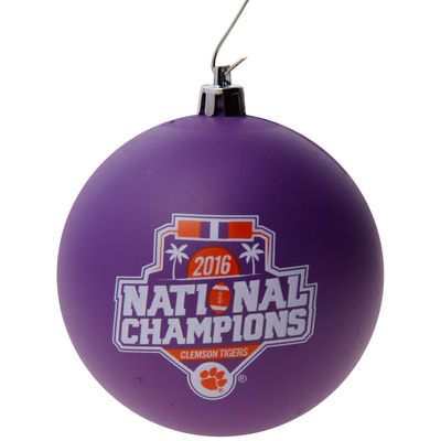 Clemson Tigers College Football Playoff 2016 National Champions Shatterproof Ornament