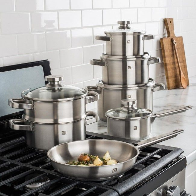 Get Henckels Twin quality in a beautiful, timeless style. Henckels Joy Cookware Set provides all the features of the most expensive cookware, at a very affordable price!