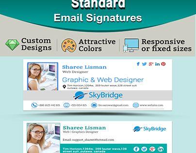 Počet nápadov na tému Professional Email Signature na Pintereste - professional email template