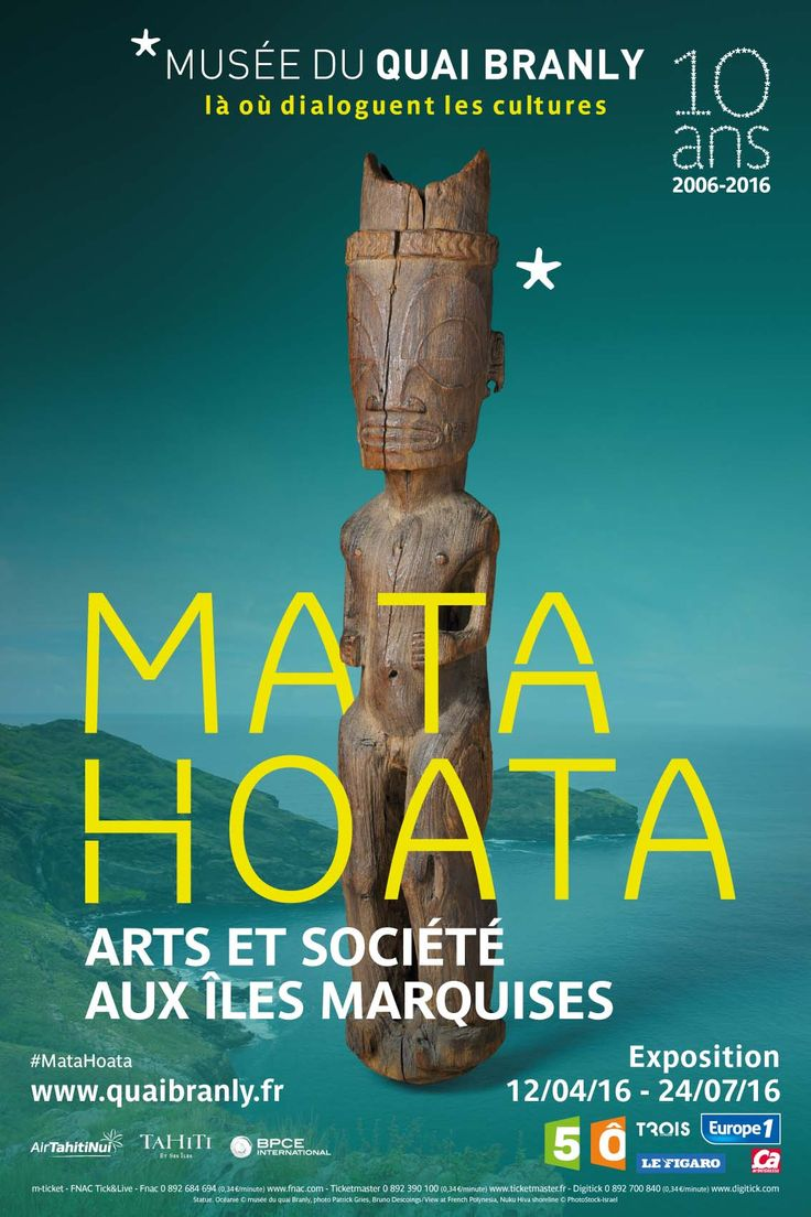 Matahoata, Arts et société aux Îles Marquises - Musée du Quai Branly, Paris, 7ème - Jusqu'au 24/07/16