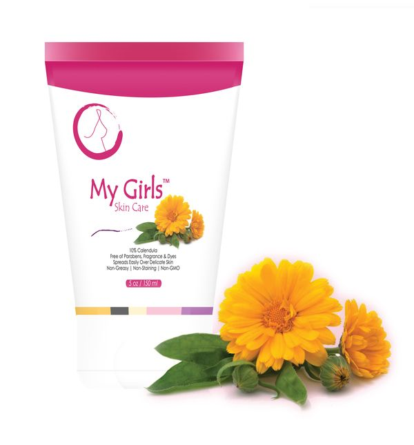 Lots To Live For - My Girls Cream, $27.50 (https://www.lotstolivefor.com/my-girls-cream/) Plant-based, calendula and rosemary skin care cream made with natural oils including coconut, olive, jojoba and avocado oil plus Vitamin E and Vitamin B5 (known for its benefits of plumping mature skin). It is free of parabens, fragrance or dyes for people who need to maintain the natural moisture balance of healthy skin after over-exposure to the elements or medical treatments such as radiation…