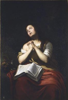 La Magdalena,1650. Real academia de bellas artes de San Fernando,Madrid.