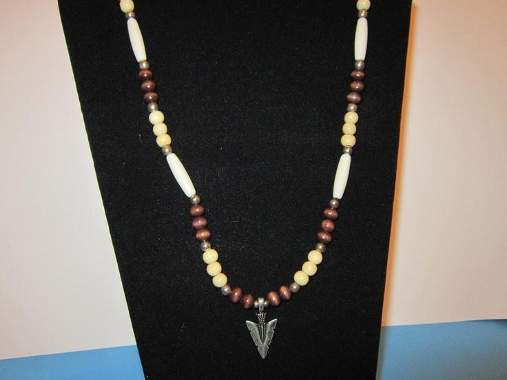 Southwestern style necklace by myhobbyroom on Etsy, via Etsy.