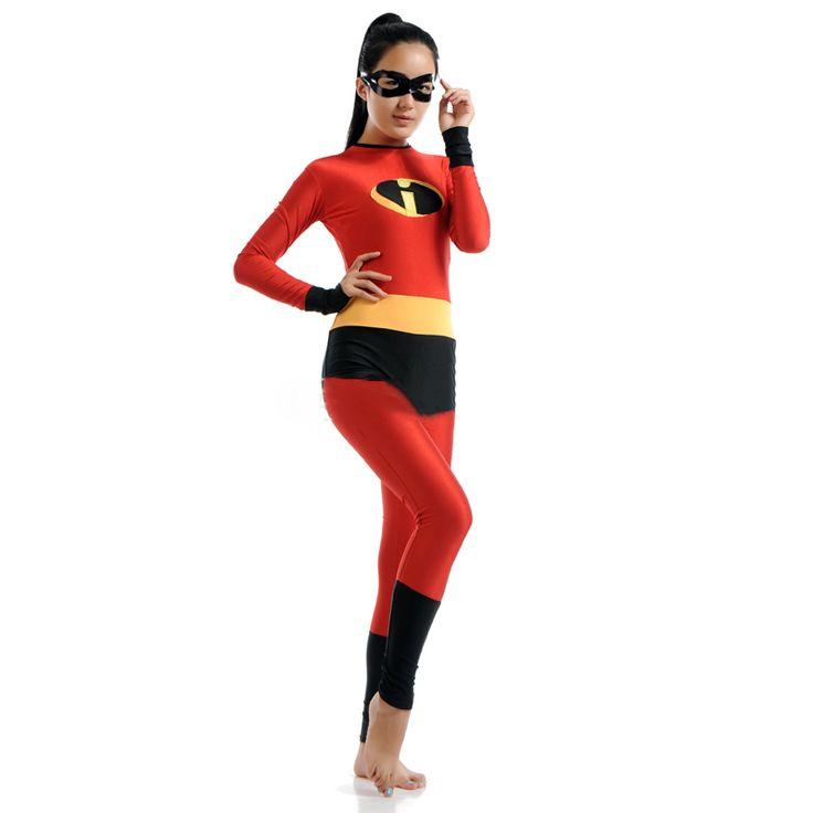 Ensnovo Hero Costume Adult Spandex Cosplay Zentai Suits Lycra Bodysuits for Halloween Party Cosplay Men Women Anime Bodysuits #Affiliate