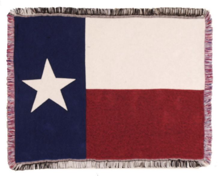 Opentip.com: Simply Home Flag Of Texas Mini Throw (436)