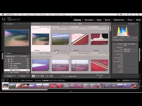 how to make a contact sheet in lightroom