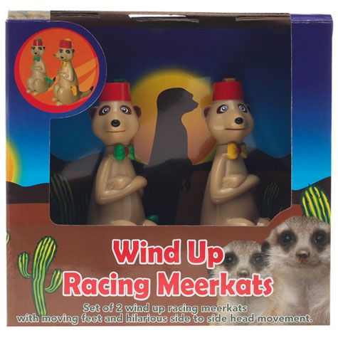 GET IT NOW Wind Up Meerkat from City Beach Australia