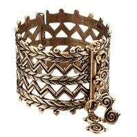 The prototype of this bracelet dates from 900-1000 A.D. It was worn by Finno-Ugric tribes living in Russia.