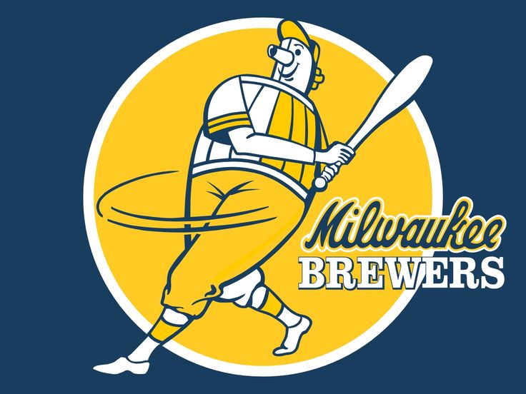 The Barrelman logo of the Milwaukee Brewers might be the best logo in the history of sports.  My affinity for beer is no secret.  A beer swinging a bat is pure genius.