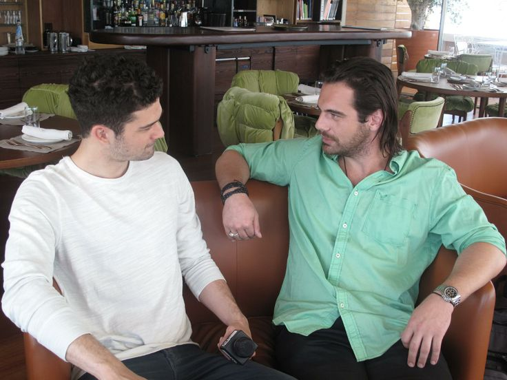 Behind the scenes with Theo Alexander at NEW #ArtLounge for #MTVGreece! Stay tuned! #yeshotels #athens #backstage